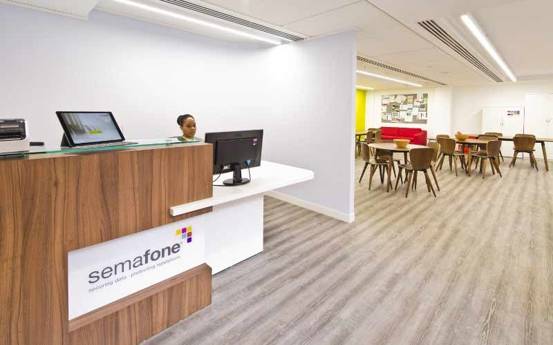 Semafone-Reception